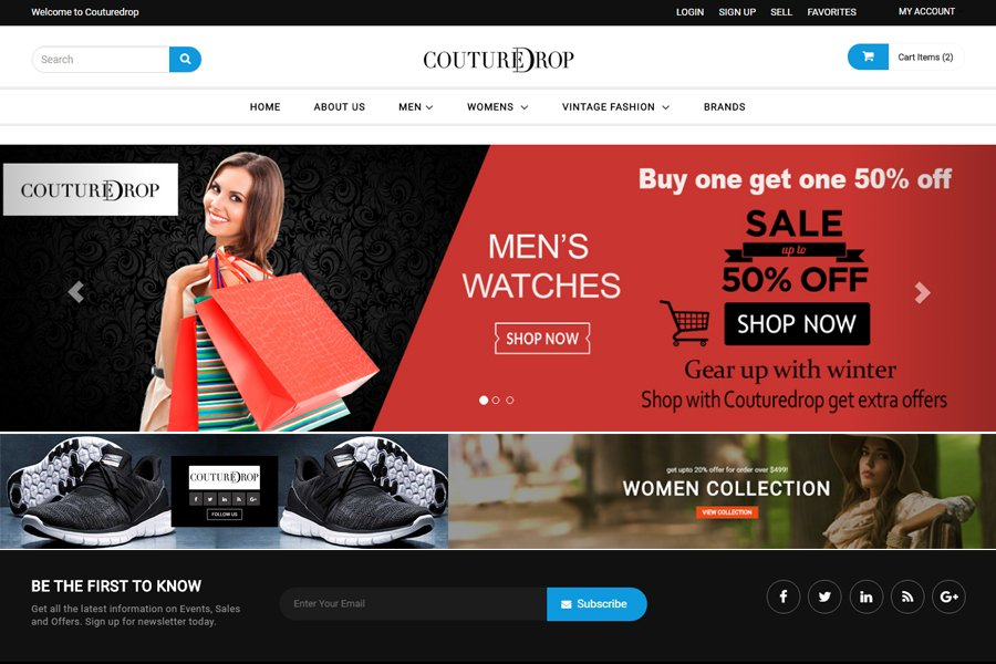 Webentic Services | Shopping Website Design and Development online Marketing